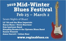 2019 Mid Winter Blues Festival