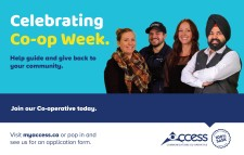 Celebrating Co Op Week. Help guide and give back to your community.