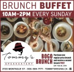 Tommys SPEAKEATERY BOGO BRUNCH