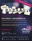 MacKenzie Art Gallery presents Holiday BAZAART