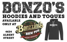 BONZOS HOODIES AND TOQUES