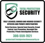 TOTAL PROTECTION SECURITY is FULLY LICENSED, BONDED AND INSURED