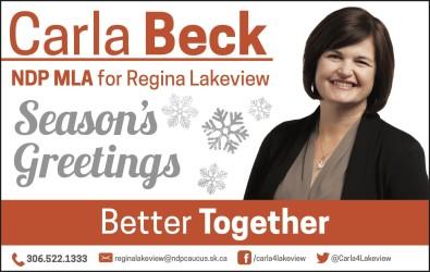 Seasons Greetings from Carla Beck