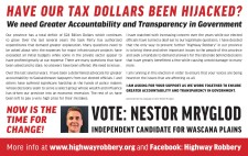 HAVE OUR TAX DOLLARS BEEN HIJACKED?