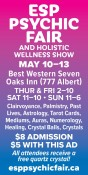 ESP PSYCHIC FAIR AND HOLISTIC WELLNESS SHOW