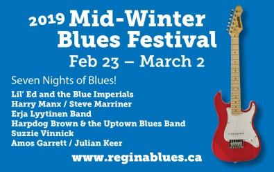 2019 Mid Winter Blues Festival