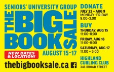 SENIORS' UNIVERSITY GROUP BIG BOOK SALE