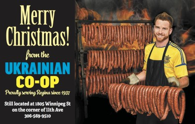 Merry Christmas from the UKRAINIAN CO OP