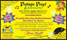 Vintage Vinyl and Hemp Emporium EXTENDED Hours in December