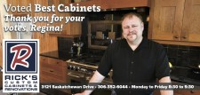 Rickss Custom Cabinets Voted Best Cabinets